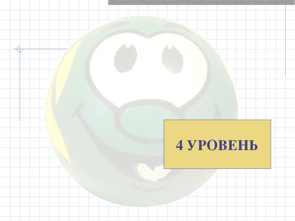 4 УРОВЕНЬ