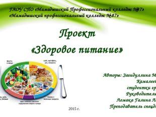 ГАОУ СПО «Мамадышский Профессиональный колледж №87» «Мамадышский профессионал