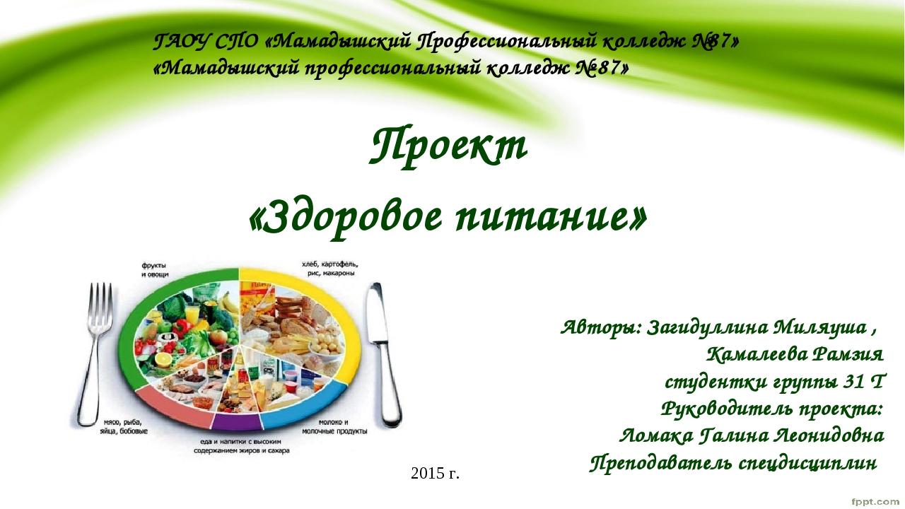ГАОУ СПО «Мамадышский Профессиональный колледж №87» «Мамадышский профессионал...