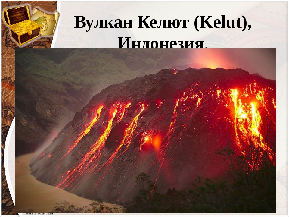 Вулкан Келют (Kelut), Индонезия.