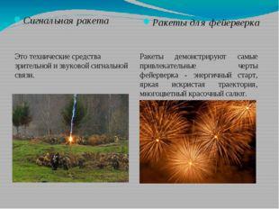 Сигнальная ракета Ракеты для фейерверка Это технические средства зрительной и