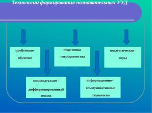 Технологии формирования познавательных УУД педагогика сотрудничества индивиду