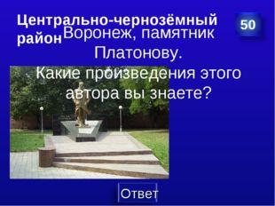 Центрально-чернозёмный район Воронеж, памятник Платонову. Какие произведения