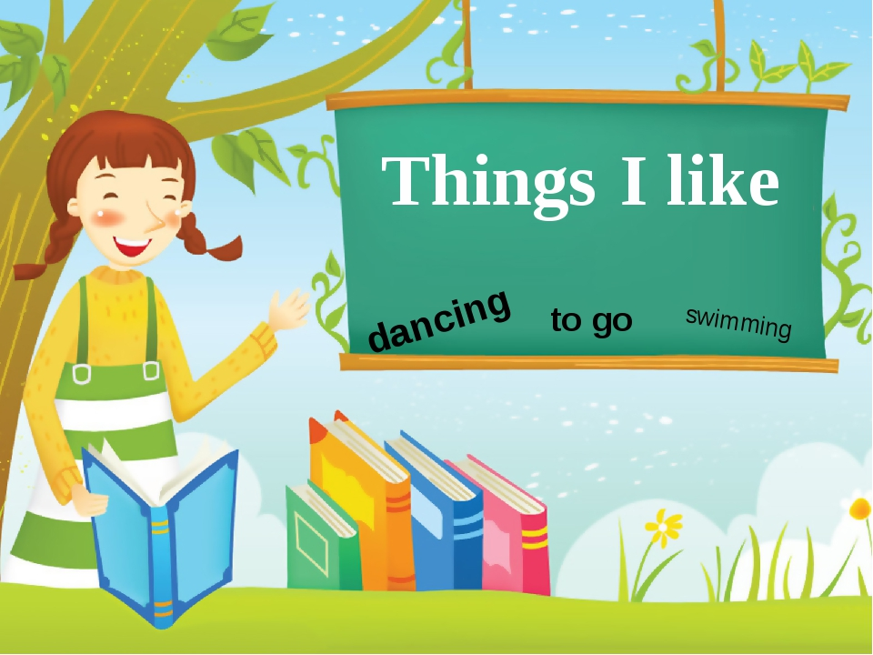 Things I like dancing to go swimming