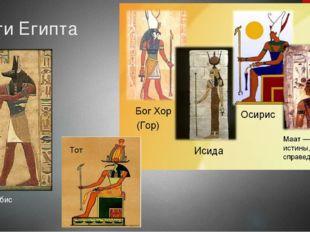 Боги Египта Анубис