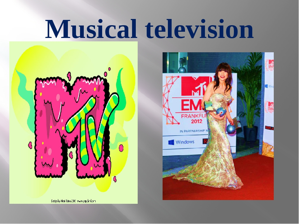 Musical television