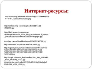 Интернет-ресурсы: http://micromag.nethouse.ru/static/img/0000/0000/8778/87784