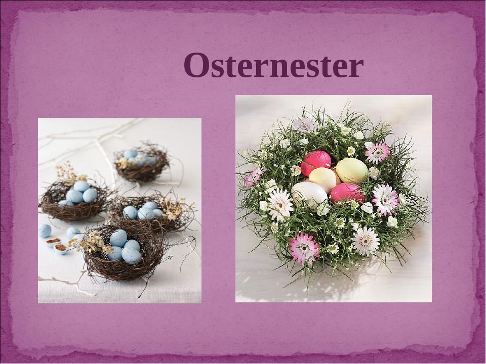 Osternester