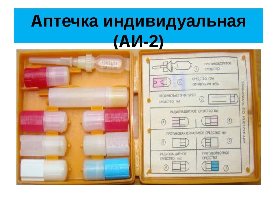 Аптечка индивидуальная (АИ-2)