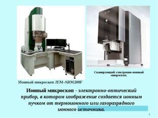 * Сканирующий электронно-ионный микроскоп. Ионный микроскопJEM-ARM200F Ионны