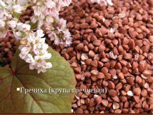 Гречиха (крупа гречневая)