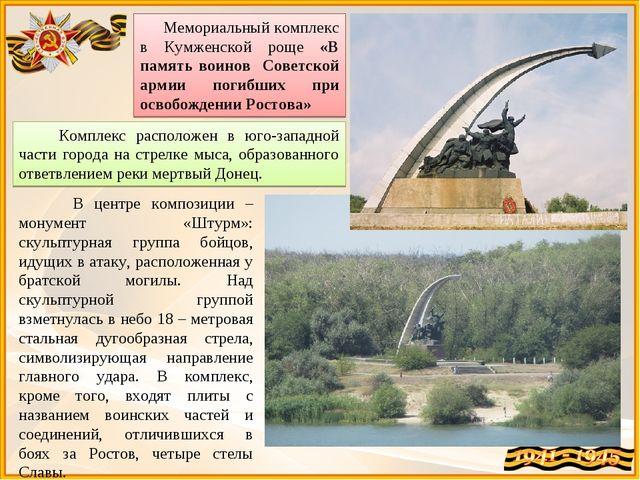Мемориальный комплекс в Кумженской роще «В память воинов Советской армии пог...