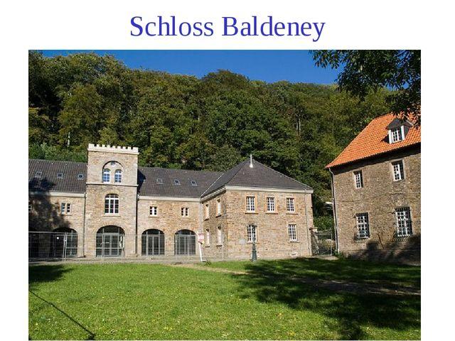 Schloss Baldeney