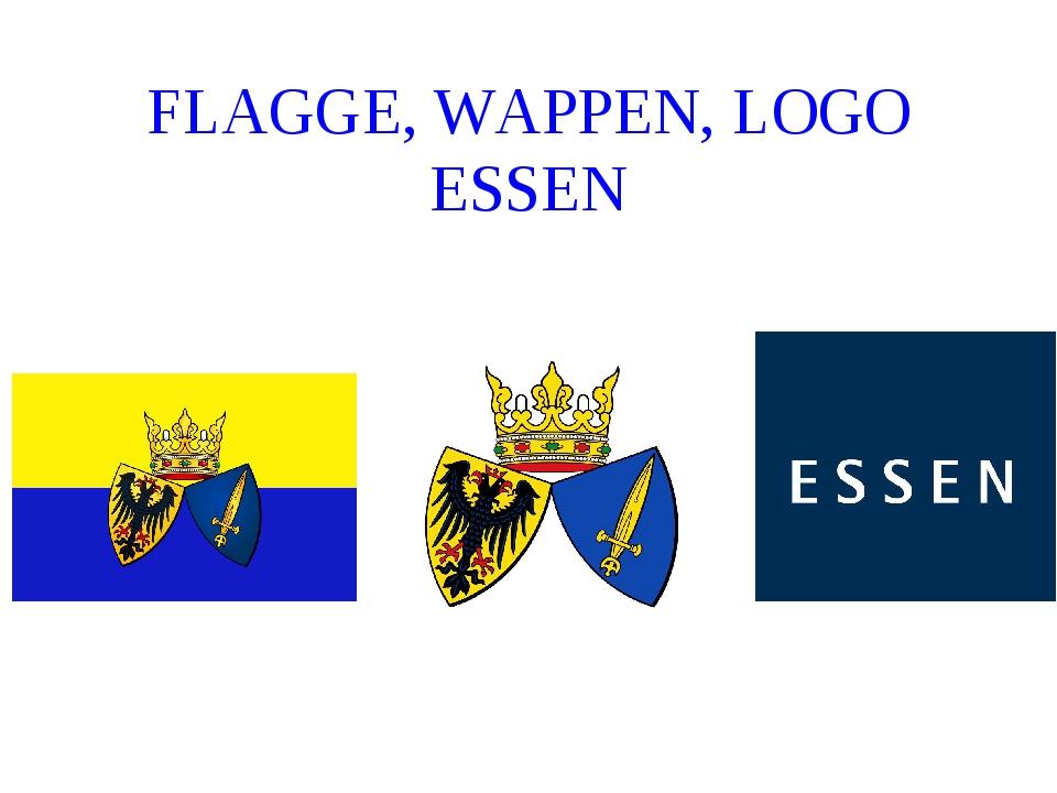 FLAGGE, WAPPEN, LOGO ESSEN
