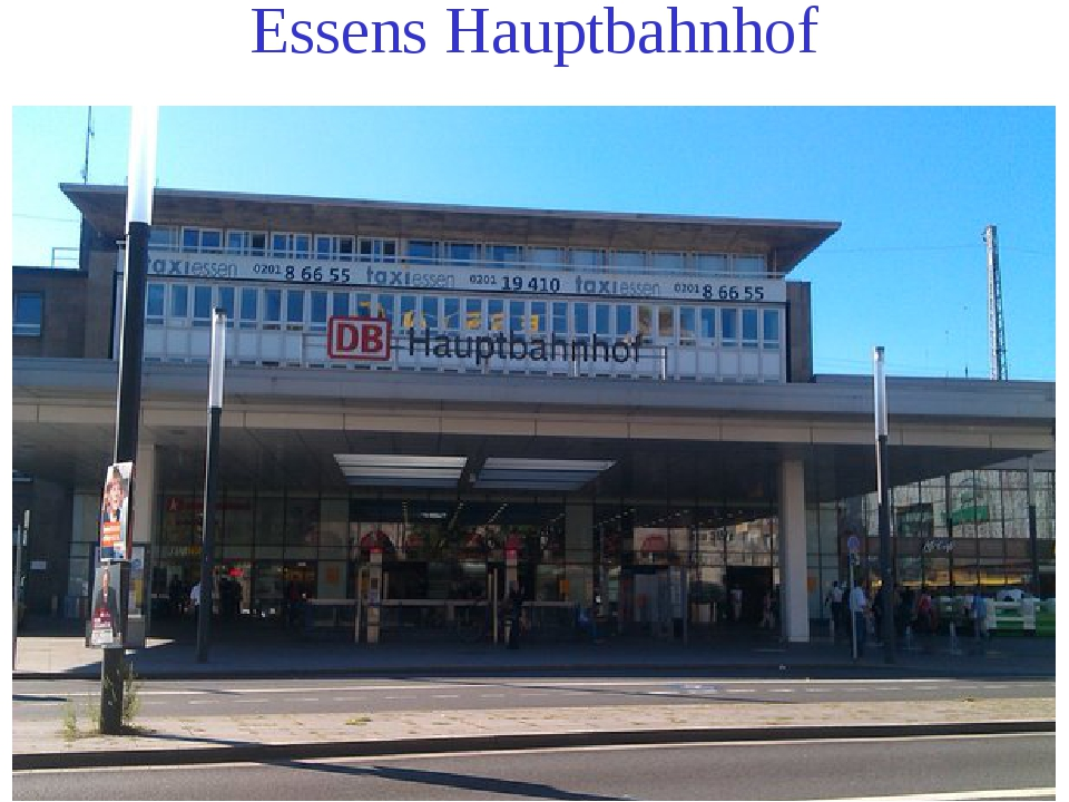 Essens Hauptbahnhof