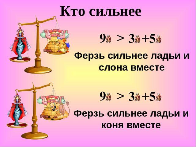Кто сильнее Ферзь сильнее ладьи и слона вместе Ферзь сильнее ладьи и коня вме...