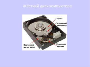 Жёсткий диск компьютера
