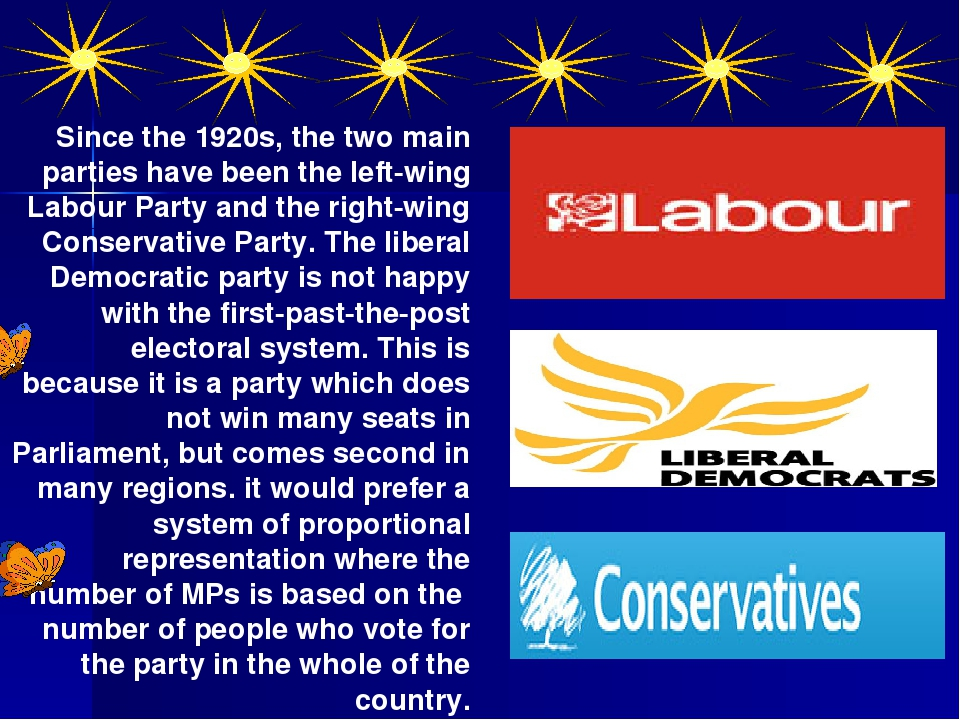 Since the 1920s, the two main parties have been the left-wing Labour Party an...