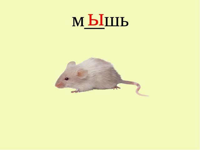м__шь ы