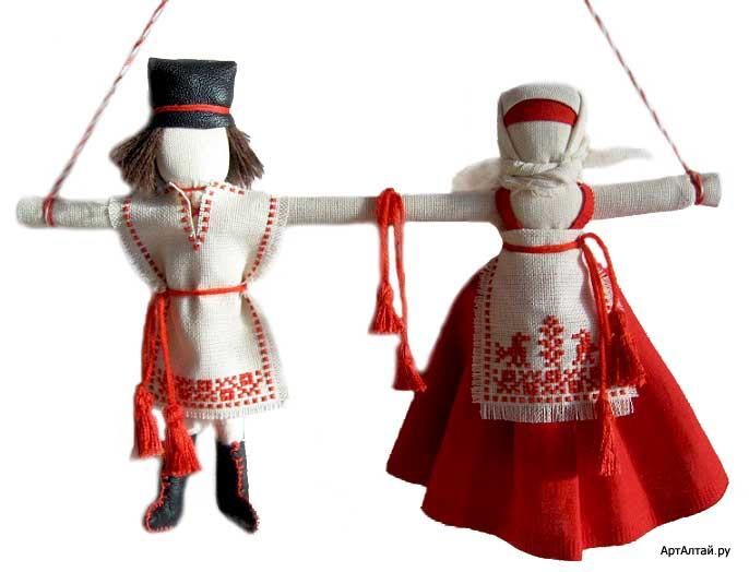 Куклы тряпичные в подарок