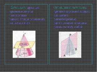 Cечением прямого кругового конуса плоскостью, параллельной основанию, являет