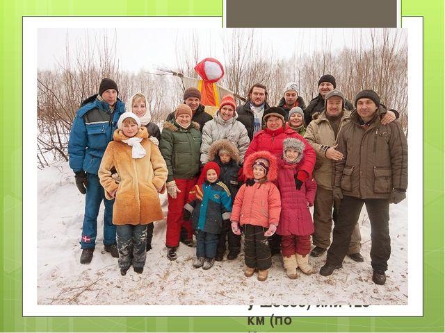 Живая картинка, 2009 Поселение в Тульской области на границе с Московской обл...