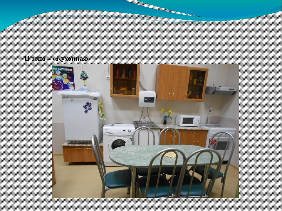 II зона – «Кухонная»