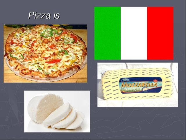 Pizza is