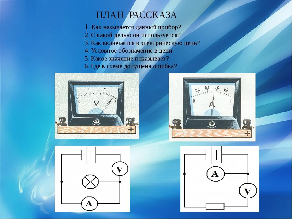 1. Как называется данный прибор? 2. С какой целью он используется? 3. Как вк...
