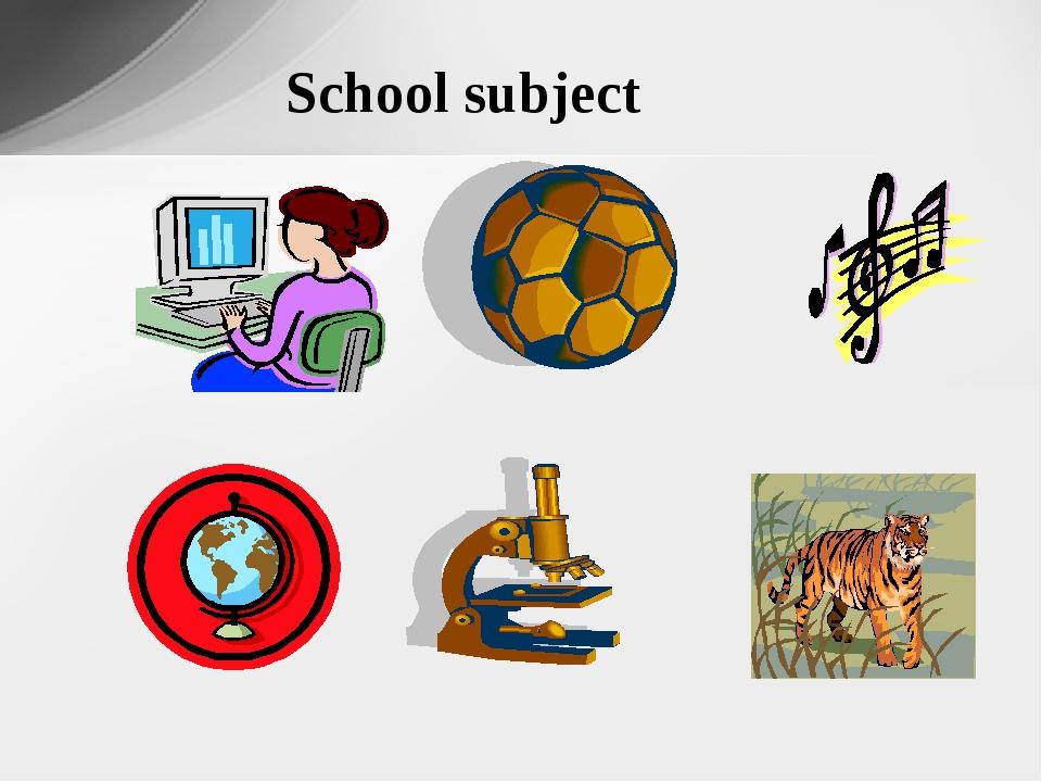 School subject