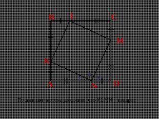 A B C D K L M N По данным чертежа докажите, что KLMN – квадрат. 1 2 3