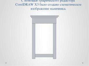 С помощью графического редактора CorelDRAW X3 было создано схематическое изоб