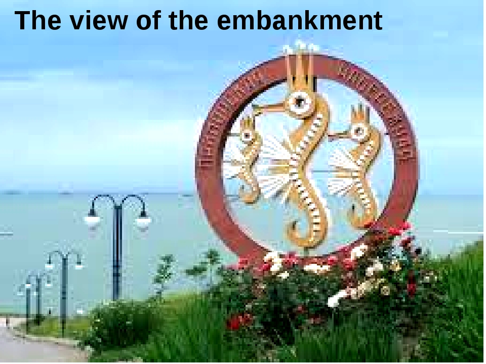 The view of the embankment