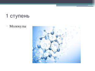 1 ступень Молекулы