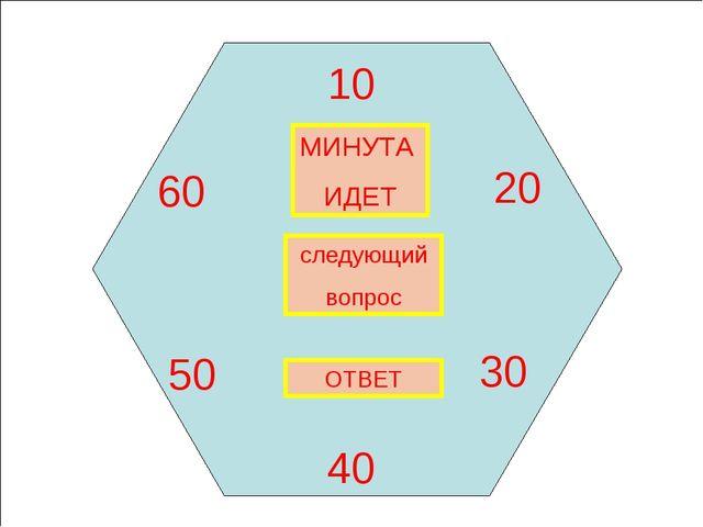 МИНУТА ИДЕТ 10 20 30 40 50 60 следующий вопрос ОТВЕТ Харьковский В.З.