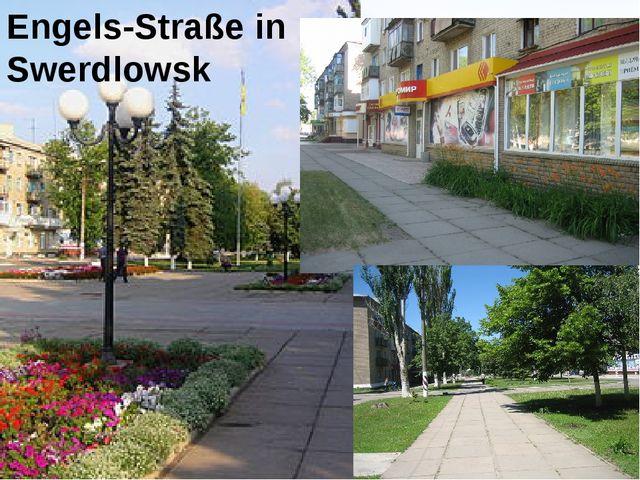 Engels-Straße in Swerdlowsk