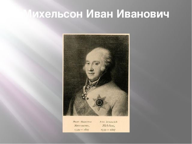 Михельсон Иван Иванович