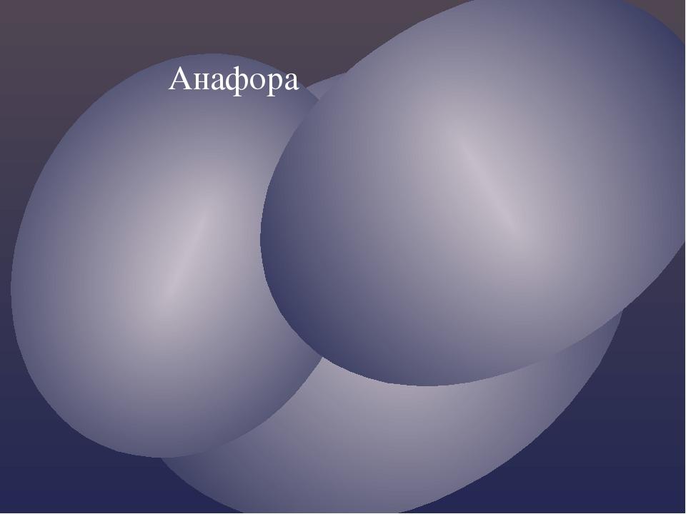 Анафора