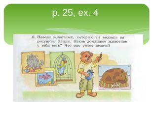 p. 25, ex. 4