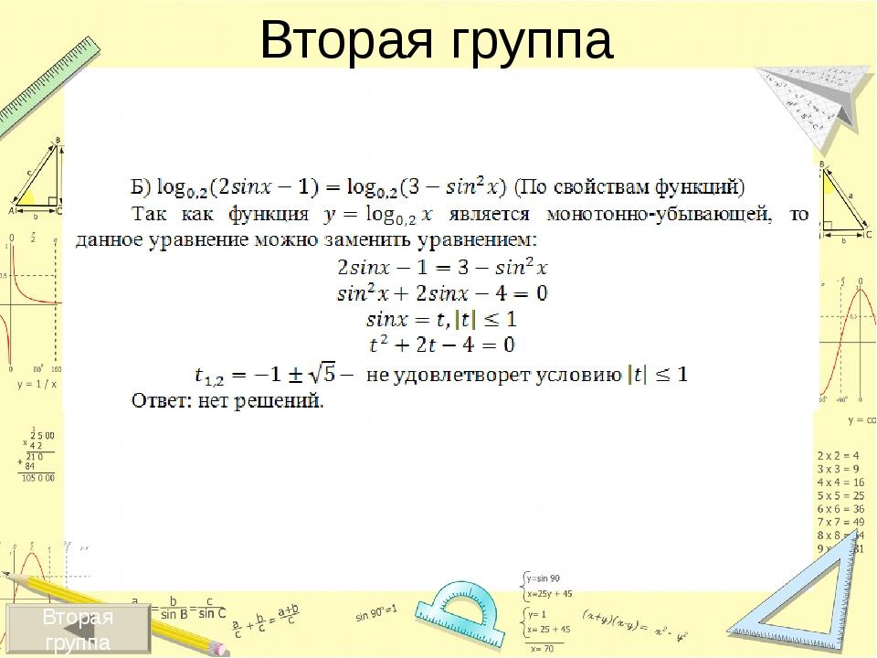 Методы решения уравнений – это способы, приемы, с помощью которых можно реши...