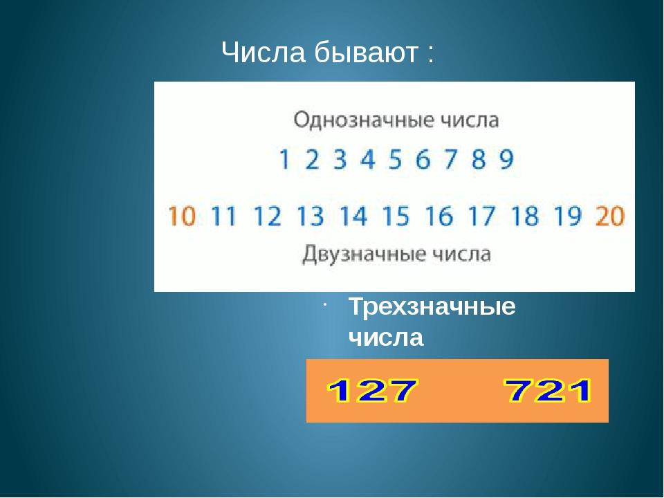 Знакомство с двузначными числами
