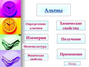 Алкены Определение алкенов Изомерия Номенклатура Химические свойства Получени