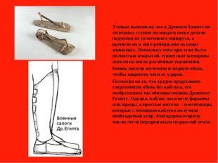 Ученые выяснили, что в Древнем Египте по отпечатку ступни на мокром песке де