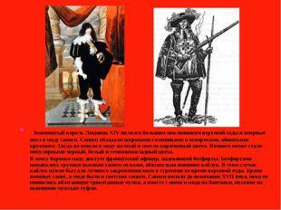 Знаменитый король Людовик XIV являлся большим поклонником верховой езды и вп