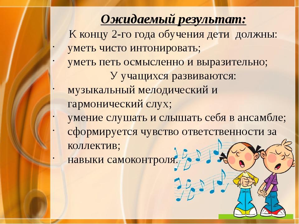 Авторская программа музыкального кружка «Вокальное пение» с использованием иг...