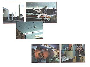В залах музея можно познакомиться с отечественной историей космонавтики от пе