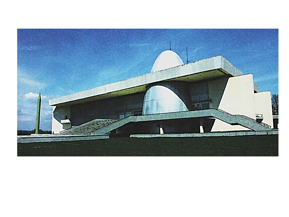 Государственный музей истории космонавтики имени К. Э. Циолковского в Калуге...