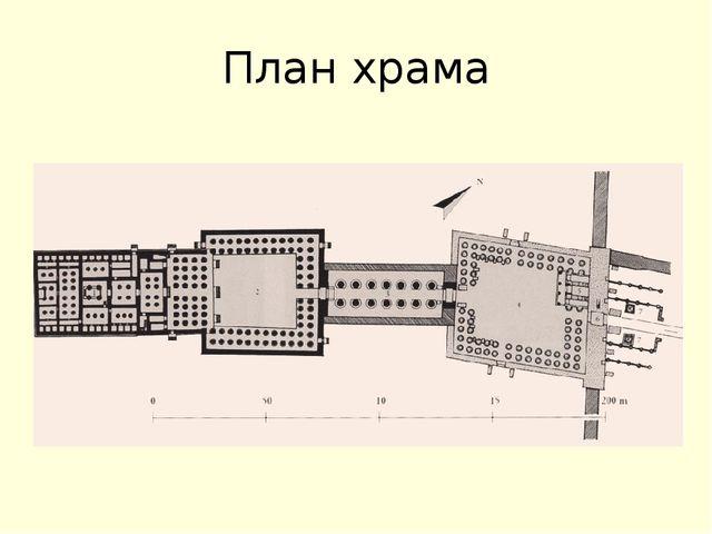 План храма