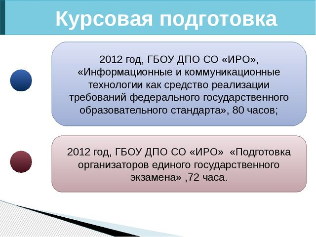 Курсовая подготовка 2012 год, ГБОУ ДПО СО «ИРО», «Информационные и коммуникац...