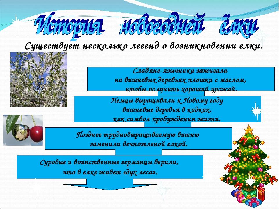 Существует несколько легенд о возникновении елки. Славяне-язычники зажигали н...